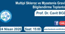 Multipl Skleroz ve Myastenia Gravis Bilgilendirme Toplantısı